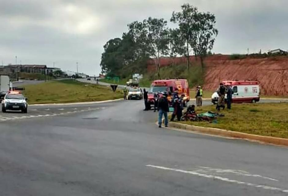 Casal morre em acidente em  Lavras
