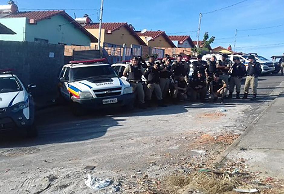 Operação Contenção em Campo Belo, apreende grande quantidade de drogas