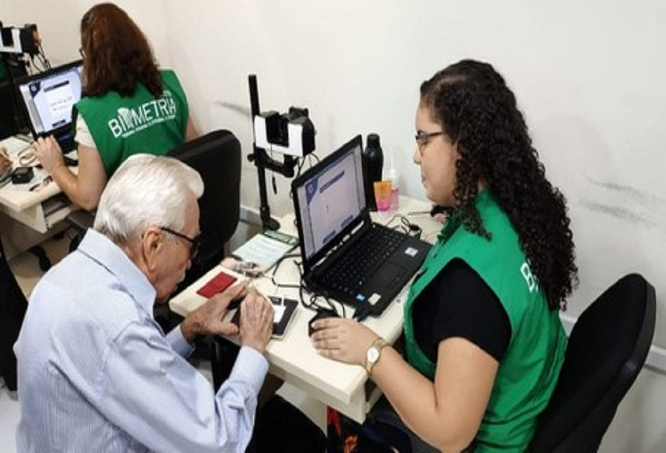 Biometria para eleitores com mais de 70 anos
