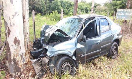 Mulher e criança morrem e três ficam feridos em acidente de carro na MG-170